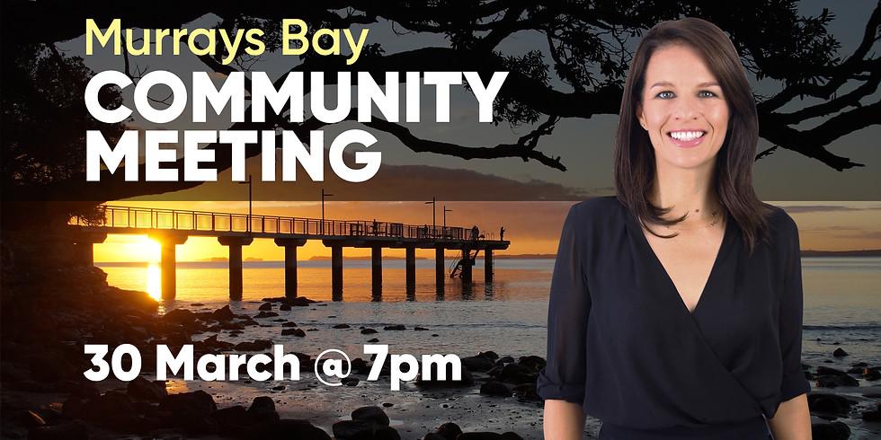 Murrays Bay Community Meeting