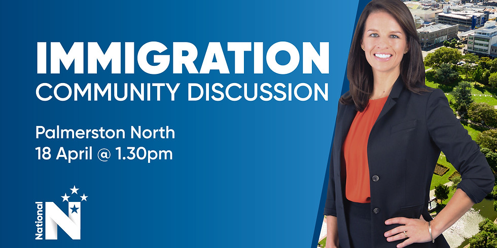 Palmerston North Immigration Meeting