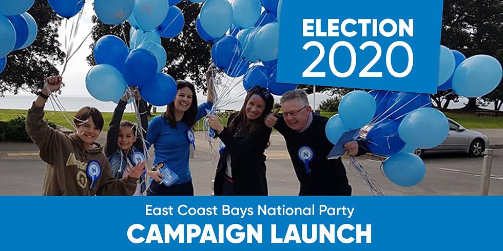 Election 2020 Campaign Launch