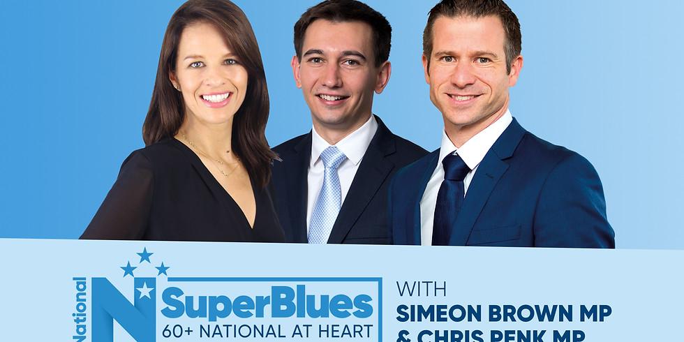 SuperBlues - Simeon Brown & Chris Penk