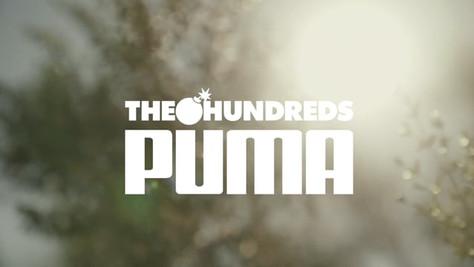 "The Hundreds X Puma // ""A Hopeful Future"""