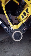 Forklifts, aerial, scissor and boom lifts.