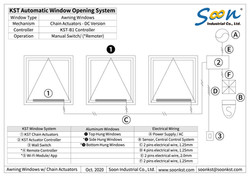 Demo of Window Opening System - Outward