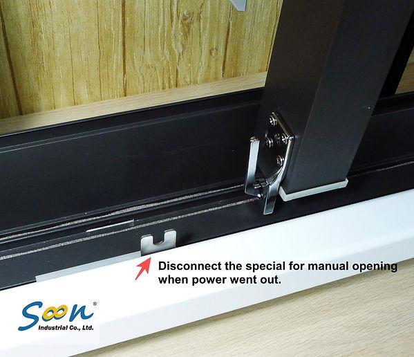 KST-SL01 - automatic sliding window open