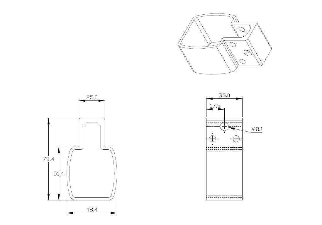 KST-A01-H 電KST-A01-H 電動推桿專用握把 - 1動推桿專用握把
