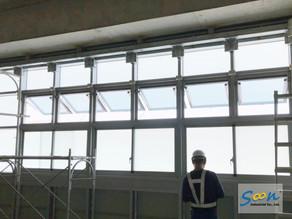 為捷運站建置良好自然排煙窗系統