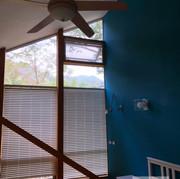 Dorm room / Top Hung Windows / Natural Vent