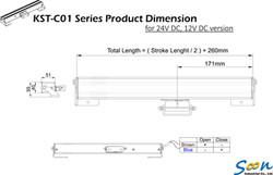 KST-C01 - DC -  line drawing
