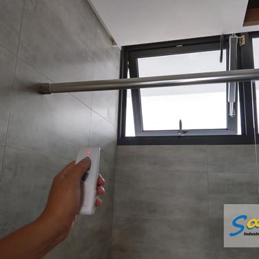 Bathroom / Top Hung Windows / Natural Vent