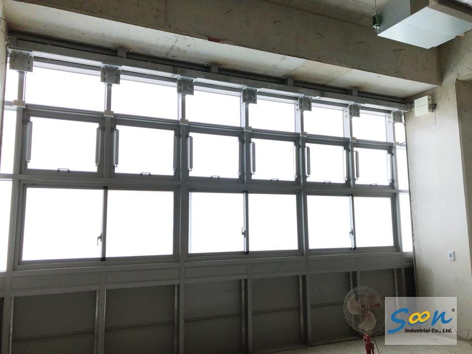 電動開窗器系統_外推窗_自然排煙窗