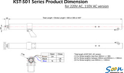 KST-S01 spindle actuator - AC version