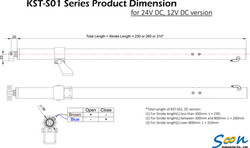 KST-S01 spindle actuator - DC version