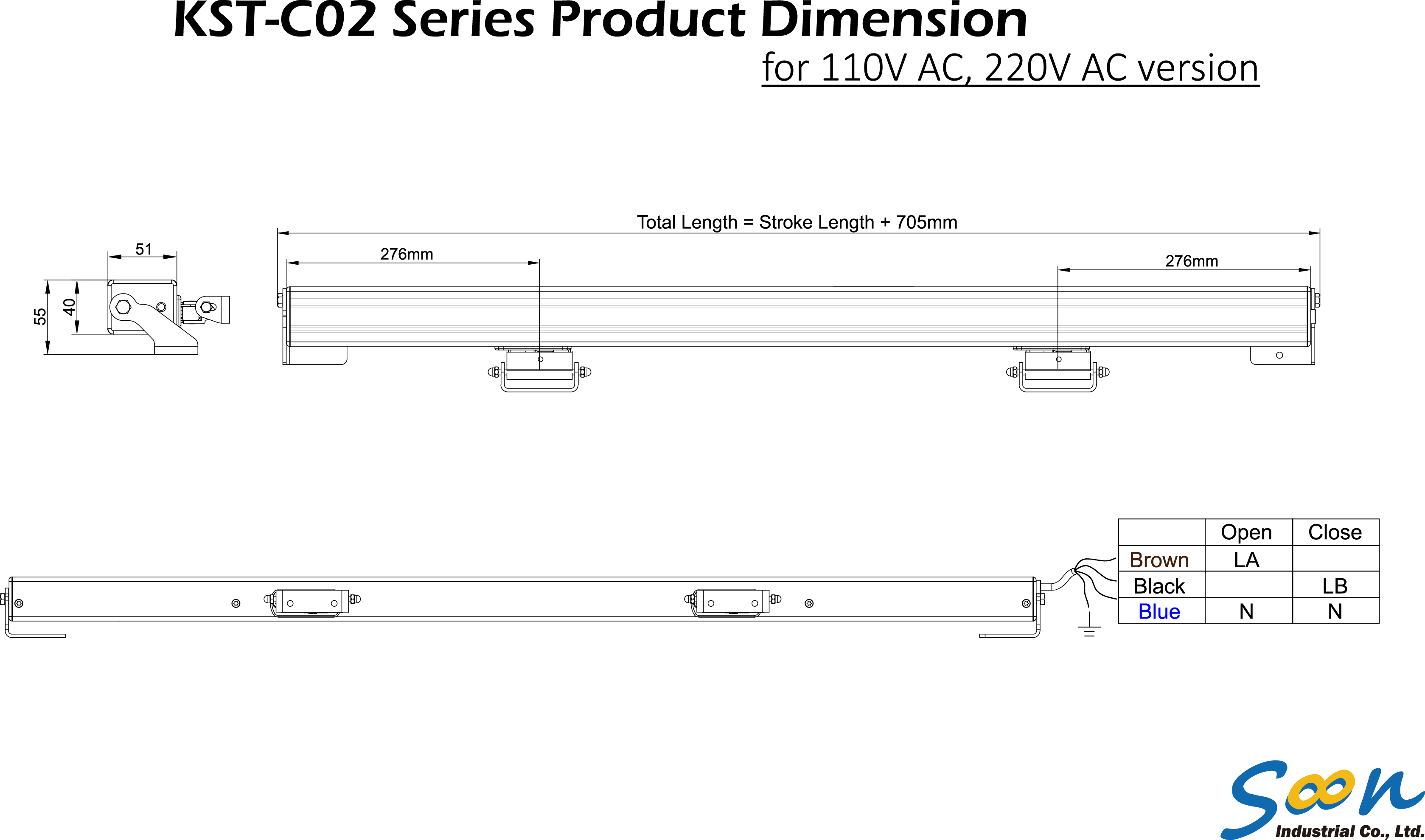 KST-C02 - AC -  line drawing