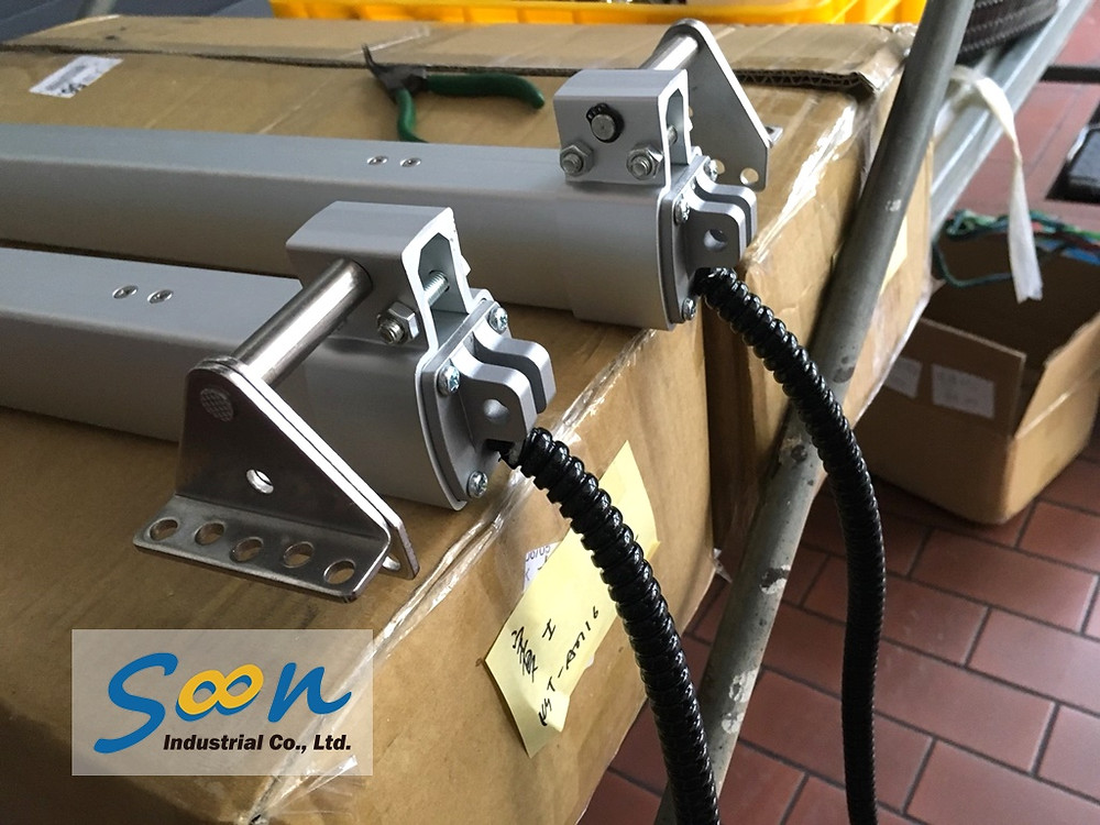 Soon Industrial case of automatic window opener in Automobile maintenance plant - 4