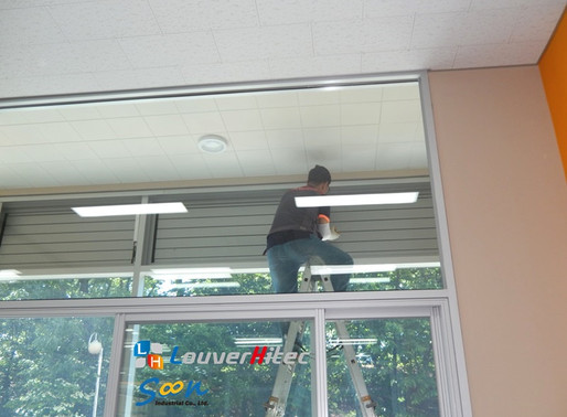 Providing great ventilation for office. Let employees begin working with fresh air