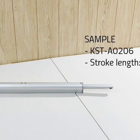 KST-A02 inline design linear actuator