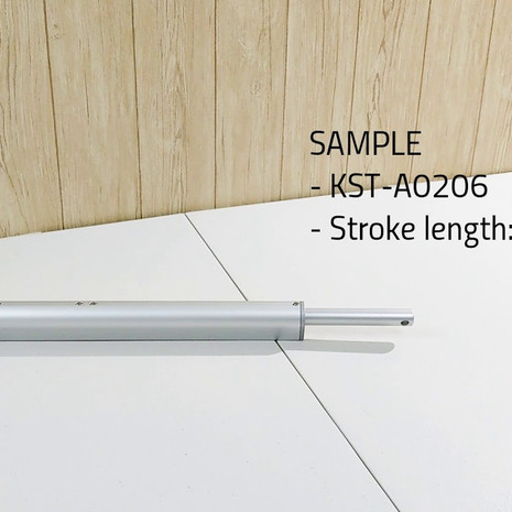 KST-A02 inline design linear actuator