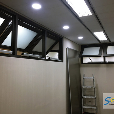 Office / Top Hung Windows / SHEV system