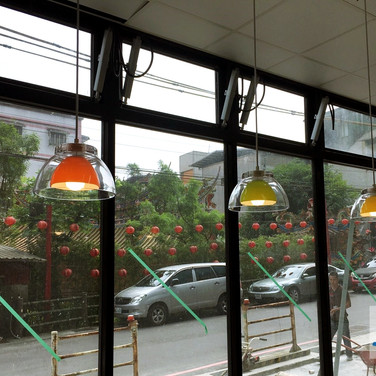 Convenience store / Top hung windows / Natural Vent
