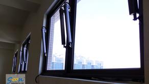 電動外推窗 - 廠房消防排煙窗、日常通風高窗