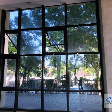 Campus Building / Top Hung Windows / Natural Vent