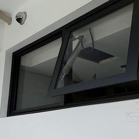 Bathroom Ventilation With High Electrical Window
