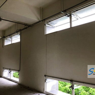 Factory / Top Hung Windows / SHEV system / Natural Vent