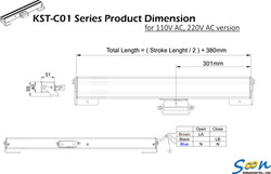 KST-C01 - AC -  line drawing