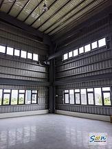 廠房自然排煙窗系統