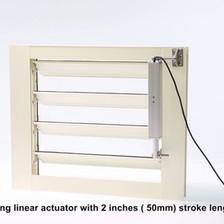 Automatic Jalousie Window
