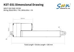 KST-E01 - dimensional drawing - EN-01