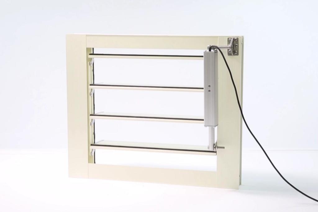 電動百葉窗 - 外掛式