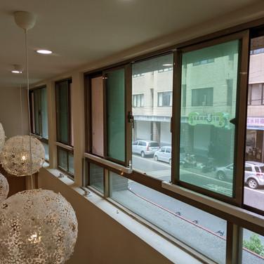 Nursing home / Sliding window / Natural Vent / SHEV system