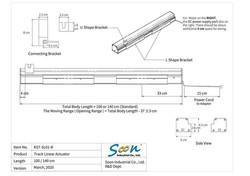 KST-SL01 track linear actuator - 5