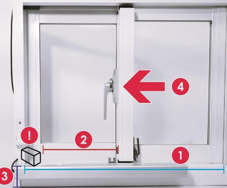安裝KST-SL02橫拉窗電動開窗器須注意那些細節呢?