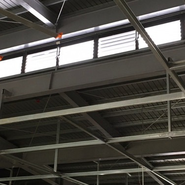Factory / Jalousie Windows / SHEV system / Natural Vent