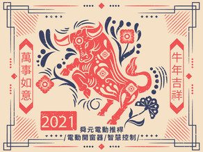 HAPPY NEW YEAR 2021 / Chinese New Year Holiday Notice