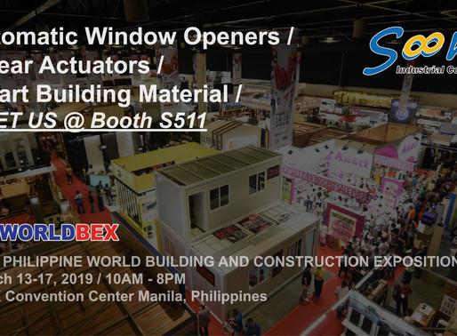 Soon Industrial at WORLDBEX in Manila