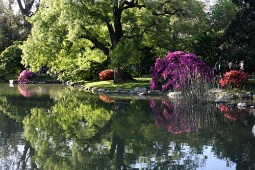 Yaz aylarında Buenos Aires Parkları