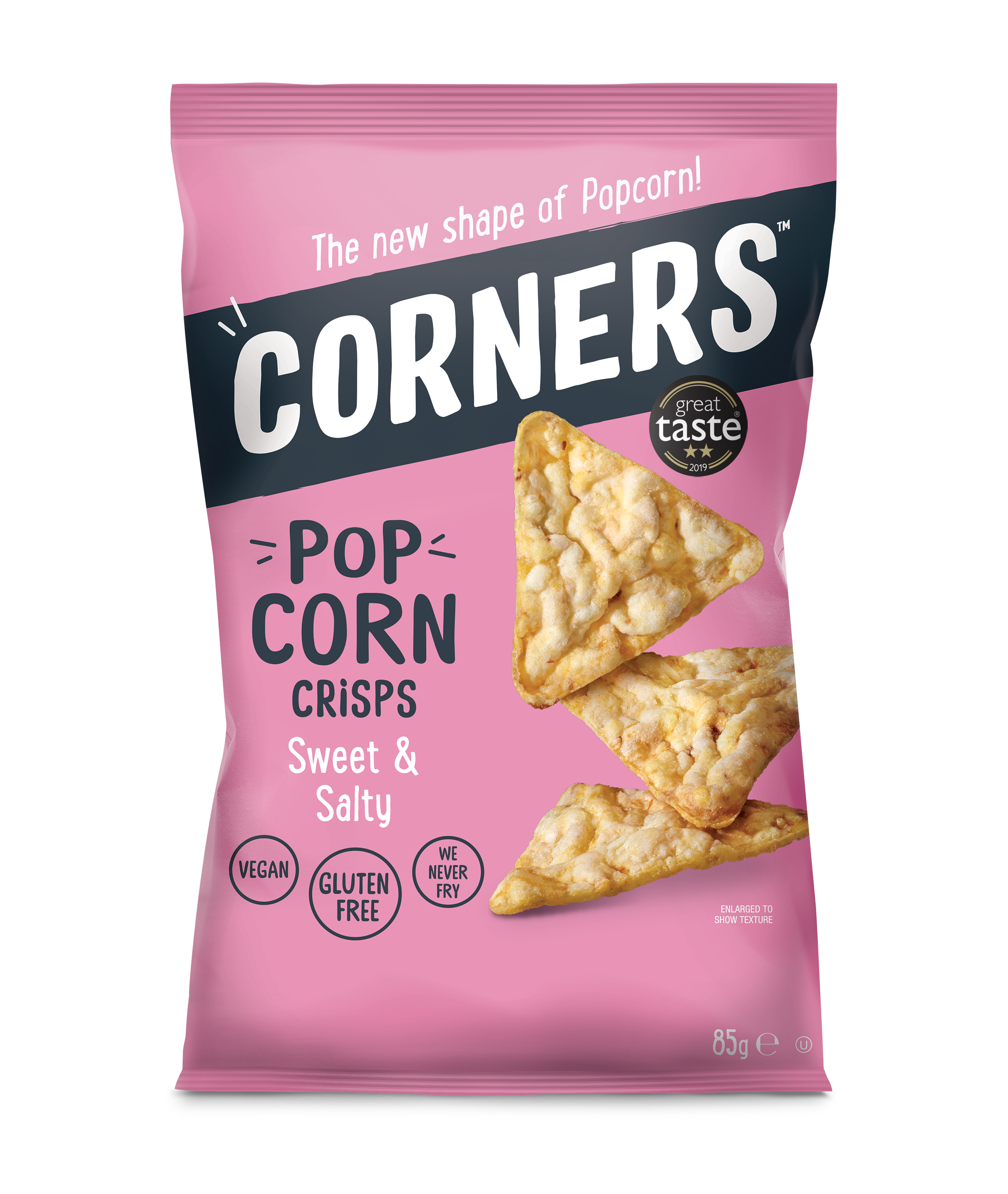 Corners_85g_Corn Sweet Salt FRONT GTA