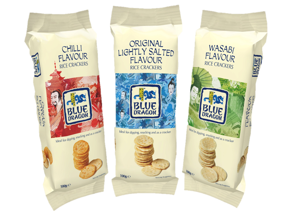 Blue Dragon Rice Crackers