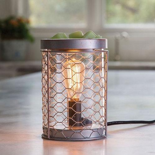 Edison Bulb Chicken Wire Warmer