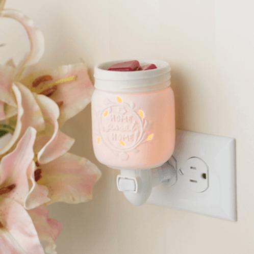 Mason jar plug-in warmer