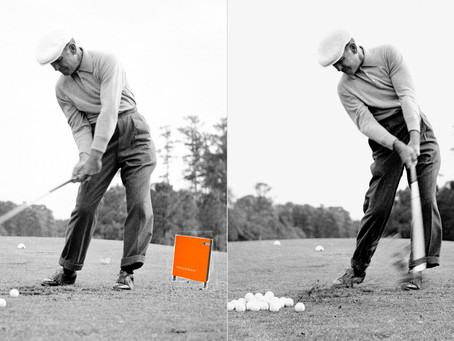Ben Hogan figured it out in the 1950s
