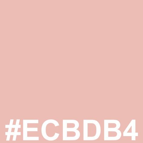 #ECBDB4