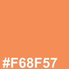 Light orange #F68F57