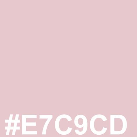#E7C9CD