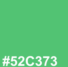 Light green #52C373