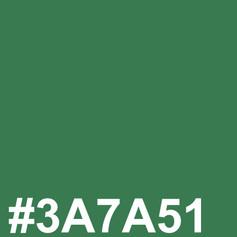 Green #3A7A51