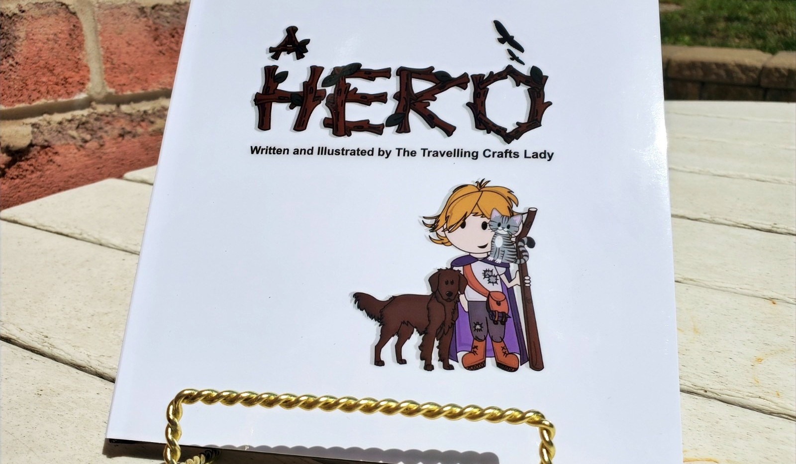 Cover of the female version of the custom storybook